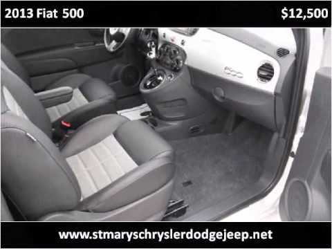 2013 Fiat 500 Used Cars Saint Marys OH