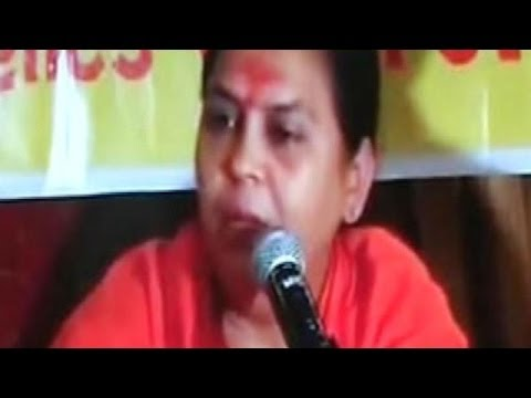 BJP leader Uma Bharti video: Congress drives a wedge
