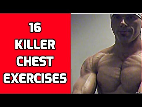 16 Killer Chest Exercises For Your Chest Workouts video