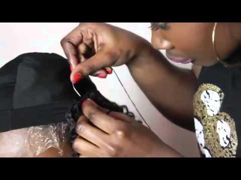 ścięcie Włosów Haircut Style Making An Afro Textured U Part Wig 11 2014