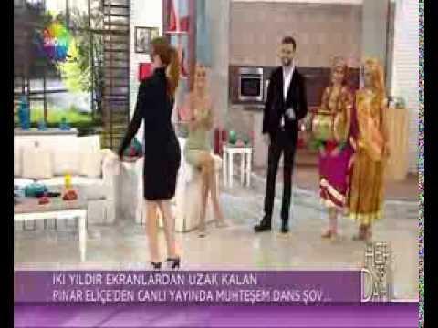 ŞAHMERAN HİNT DANS GRUBU'ndan Pınar Eliçe'ye Dans Dersi...