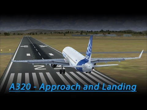 A320 Approach and Landing Tutorial (FSX - Aerosoft A320)