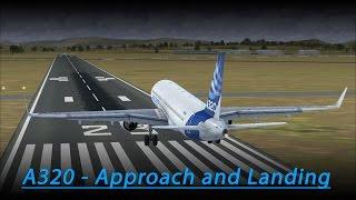 A320 Approach and Landing Tutorial (FSX - Aerosoft A320)