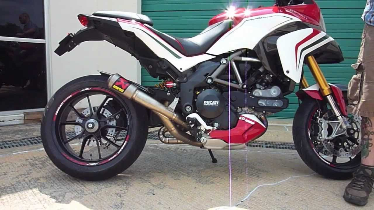 Ducati Monster Akrapovic Exhaust