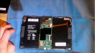 I Disassembled My Blackberry Playbook.