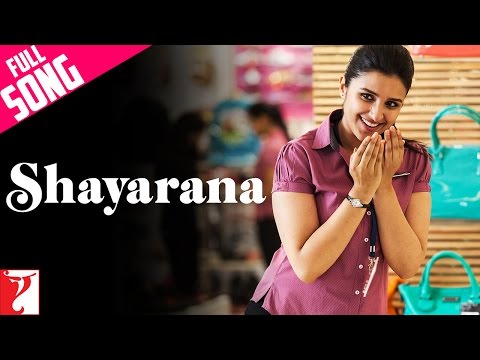 Shayarana - Full Song | Daawat-e-Ishq | Parineeti Chopra