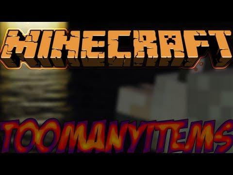 Minecraft Mods Showcase - TooManyItems Mod! (1.8) - 1.7.10