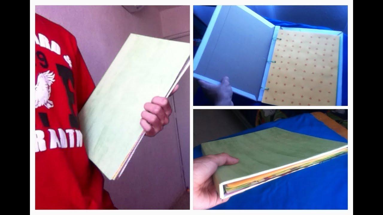 Como Hacer Una Carpeta De Carton