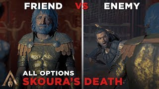 Alexios Fights Skoura in the Arena (Friend vs Enemy Approach) Death Scene - Assassin's Creed Odyssey
