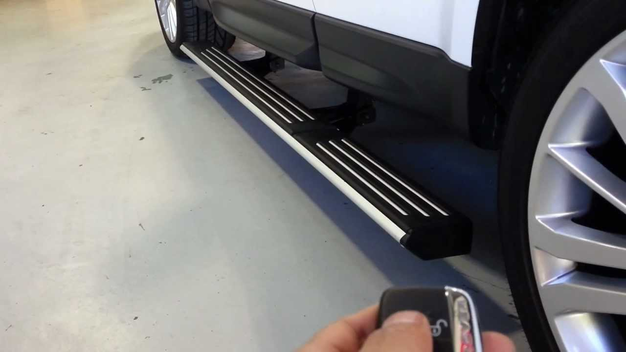 Range Rover Sport Eletric Deployable Side Step Youtube