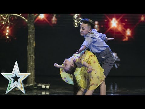 Double Impact take to the stage for the IGT final   The Final   Ireland's Got Talent 2018