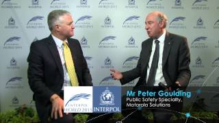 INTERPOL World TV - Interview with Mr Peter Goulding, Motorola Solutions