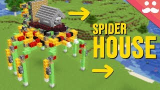 Walking Spider House with Honey Blocks