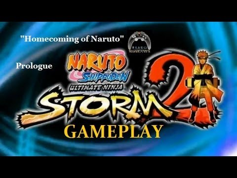 Naruto Ninja Storm 2 Homecoming of Naruto GAMEPLAY