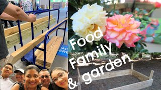 Homemade TACOS  and making a GARDEN BED  May 2020 #gardenbed #tacos #familyvlog