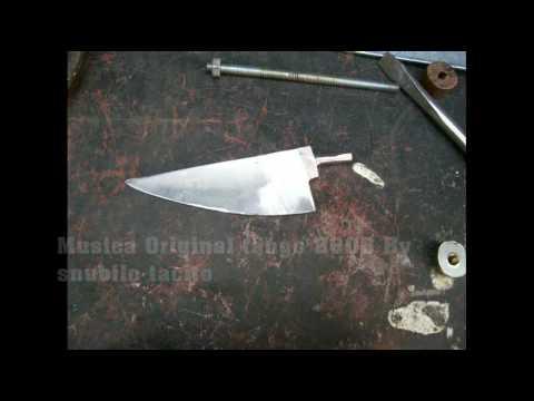 Construccion de un cuchillo artesanal youtube - Como hacer soporte para cuchillos ...