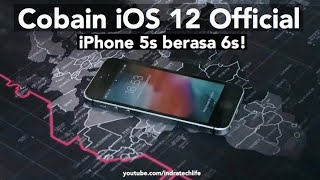 Cara Update iOS 12 via iPhone (Official Release) - Indonesia by iTechlife