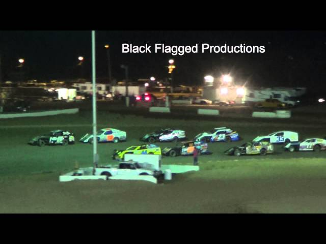 Modified Main Event From Canyon Speedway Park May 11th 2013