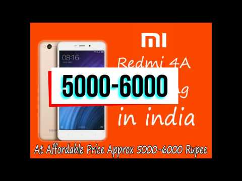 Xioami Redmi 4A Upcoming In India, At Affordable Price Approx 5000-6000 Rupee,