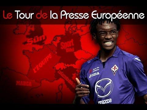 Le Barça veut Cuadrado, 2 joueurs de Man Utd à Arsenal ? Le tour de la presse européenne !