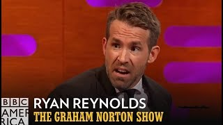 Ryan Reynolds' Surreal Eyeball Touching Experience - The Graham Norton Show