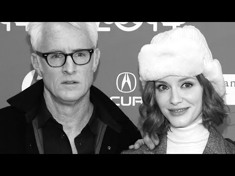 John Slattery and Christina Hendricks interviewed by James King