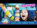 เด็กจิ๋วรีวิว สกุชชีไอติมแนวใหม่ Punimaru Icecream Octo Stack