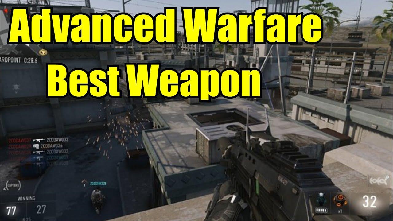 Advanced warfare best gun weapon bal 27 youtube