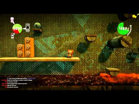 LittleBigPlanet 2 на pewpew.tv - Эпизод 30 - Crash Bandicoot! :D