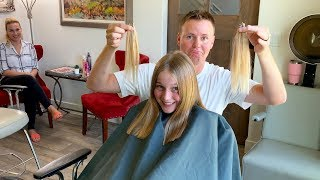 Cutting Off My Daughter's Hair!