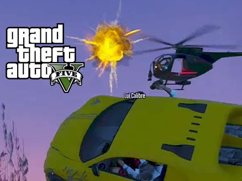 Gta 5 Online two Friends, Two Bounties Movie Trailer video