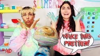 MAKE THIS SLIME PRETTIER CHALLENGE! Slimeatory #612