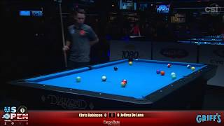 2018 US Open 8-Ball Championship: Chris Robinson vs Jeffrey De Luna