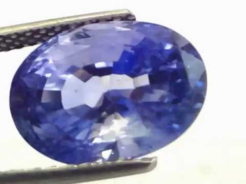 Huge 11.49 Ct Unheated Untreated Natural Srilankan Ceylon Blue Sapphire video