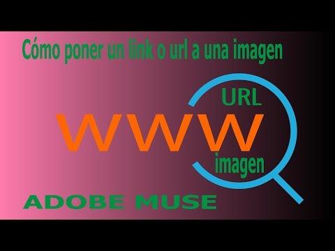 Cómo poner un link o url a una imagen Adobe Muse