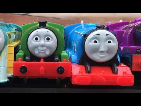 Thomas and Friends Accidents Will Happen! Kids Playing with Thomas The Tank Engine Toy Trains