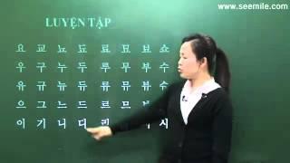 congtydichtienghan.com Học tiếng hàn quốc cơ bản - Bài 2- Phụ âm
