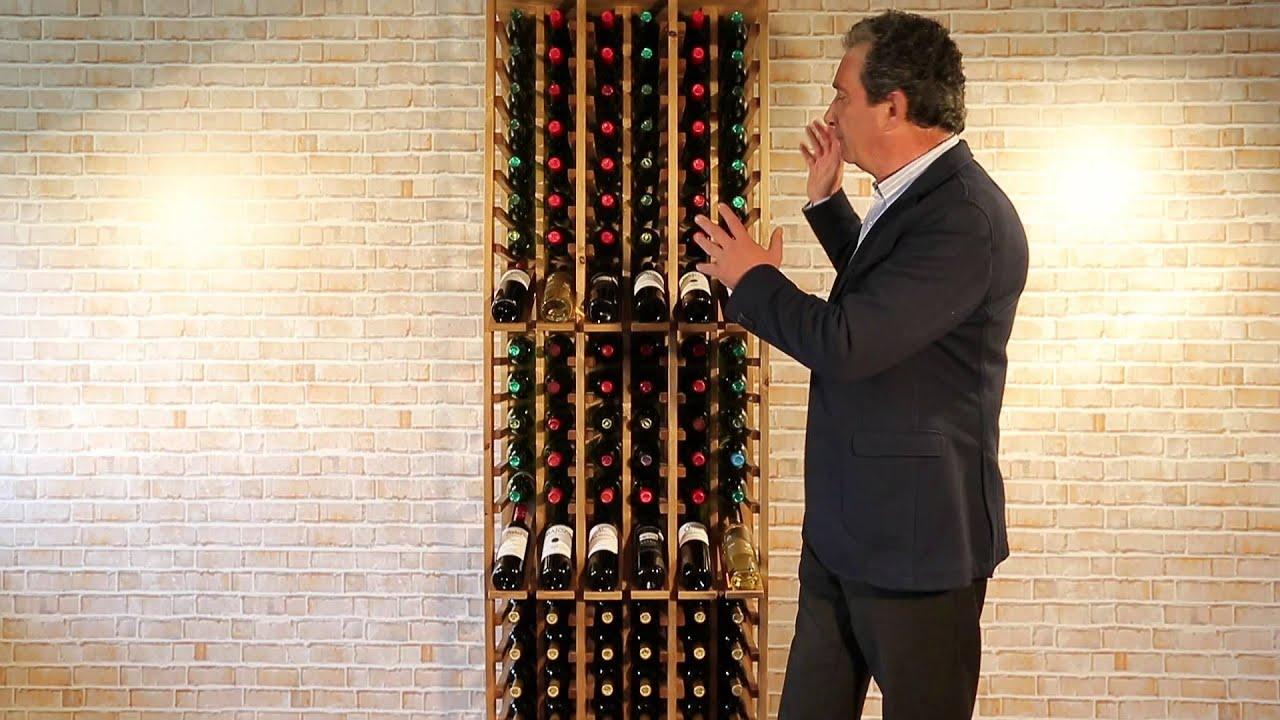 Botellero godello especial tiendas vinos youtube - Botellero de pared ...