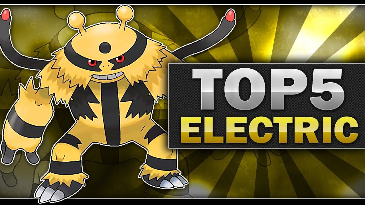 All Electric Type Pokemon Electric Type Pokemon