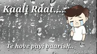 Teri yaad female song status for WhatsApp