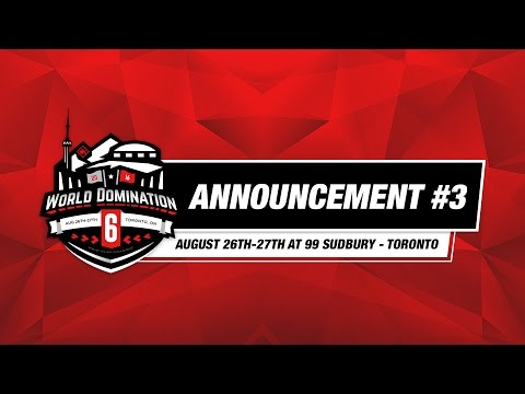 KOTD - World Domination 6 - Announcement #3 | #WD6ix