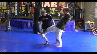 Kyokushin Kicking Drills with Shihan Cameron Quinn