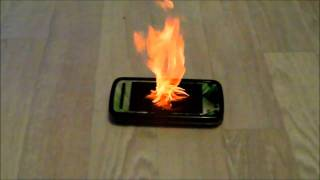 Burning Telephone!!