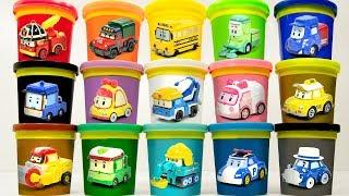 Robot Car Poli Play-Doh [TOY TV]