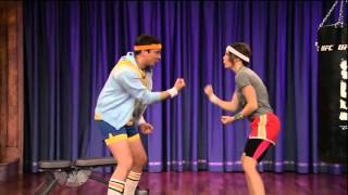 Download Lagu Jessica Biel Gets Physical With Jimmy Fallon (part 1) Gratis STAFABAND