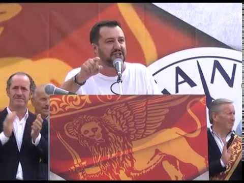 Intervento integrale di Matteo Salvini (Cittadella - 21/09/2014)