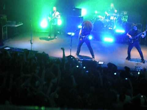 Coheed&Cambria- Intro&Time Consumer (First Show With Zack Cooper)