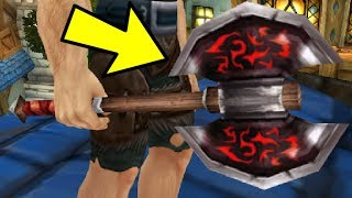 This Lvl 39 Axe Sells for 10 Million Gold in WoW Auctions..