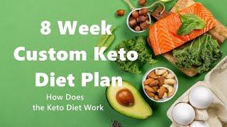 8 Week Custom Keto Diet Plan - A Guide To Keto - How Does the Keto Diet Work