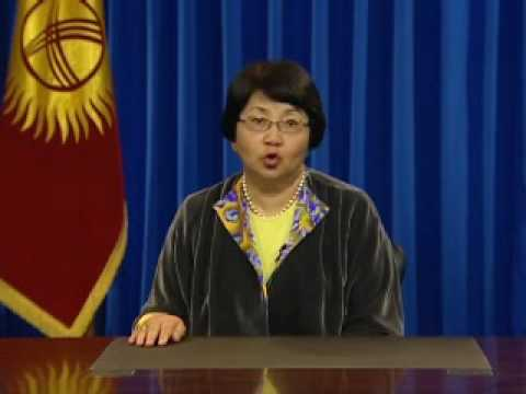 Official address of Ms. Otunbayeva to the people of Kyrgyzstan (in Kyrgyz) - May 8, 2010